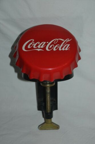 1990's CocaCola Cap Sign with Balcony Cap Opener