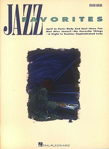 Jazz Favorites Sheet Music Piano Solo Songbook NEW 000292054