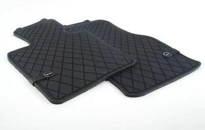 Original MINI Allwetter-Fu/ßmatten Gummifu/ßmatten LHD Essential Black vorne MINI F55// F56