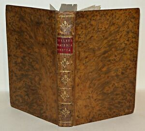 Lectures-On-The-Materia-Medica-As-Delivered-By-William-Cullen-1781-HB