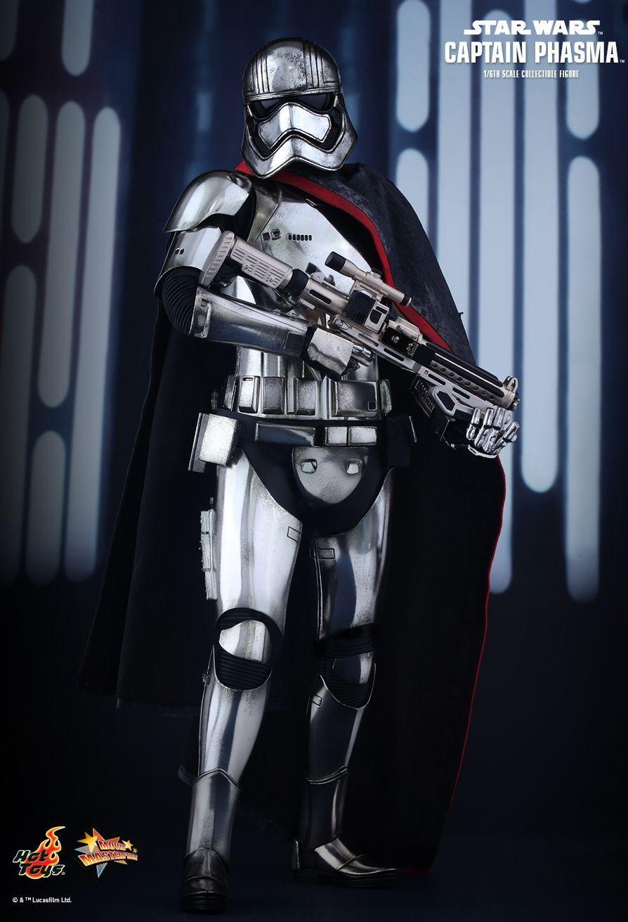 mejor vendido Star Wars-capitán phasma 16th Escala Figura de de de Acción MMS328 (Hot Toys) NEW  tienda de pescado para la venta