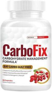 CarboFix Carbohydrate Management Formula 60 Capsules
