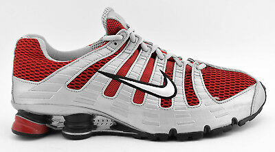 nouvelle arrivee 2523d b1896 MENS NIKE SHOX TURBO OH + RUNNING SHOES SIZE 11.5 SILVER RED GRAY 313827  611 | eBay