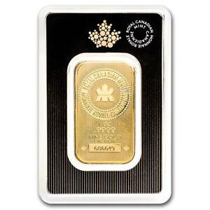 1-OUNCE-ROYAL-CANADIAN-MINT-9999-FINE-GOLD-BAR-1OZ