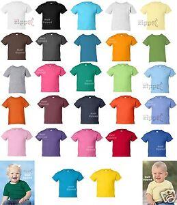 Rabbit-Skins-Infant-Short-Sleeve-Cotton-T-Shirt-3401-6M-12M-18M-24M-NEW