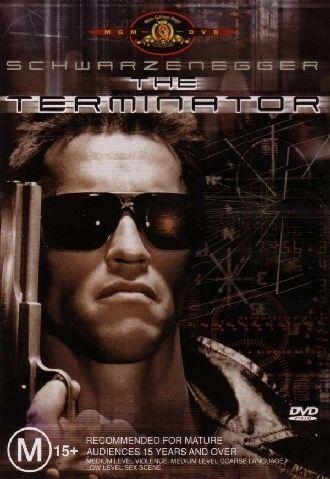 The Terminator DVD Arnold Schwarzenegger FREE POST