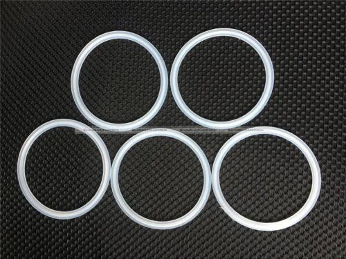 """5PCs 4/"""" Junta De Silicona sanitario TRI CLAMP se ajusta el diámetro exterior 119mm tipo Virola Brida S8"""