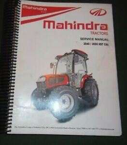 mahindra vehicle repair manuals