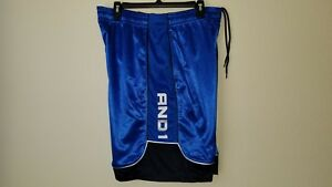 New-Mens-Basketball-Shorts-by-And1-Adjustable-Elastic-Waist-Size-L