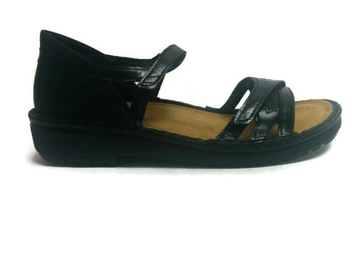 Zapatos de cuero Naot Tatiana Mujeres Sandalias confort Plano Plano Plano Cuña Gladiador Nuevo  tienda en linea