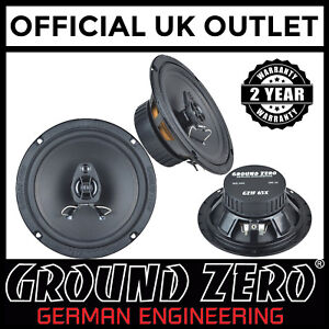 Vauxhall-Astra-H-VXR-GroundZero-240W-16-5cm-2way-Coaxial-Front-Door-Car-Speakers