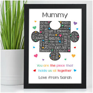 PERSONALISED-Birthday-Gifts-Mummy-Puzzle-Piece-Gifts-for-Mum-Nanny-Nanna-Gran