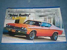 """1969 Chevelle SS396 Article """"Driver Quality"""" Redefined Super Sport"""
