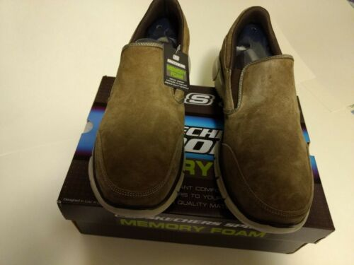 mousse ~ Chaussures viscoélastique à m en hommes pour enfiler 12 Skechers ~ wXW4AqOH