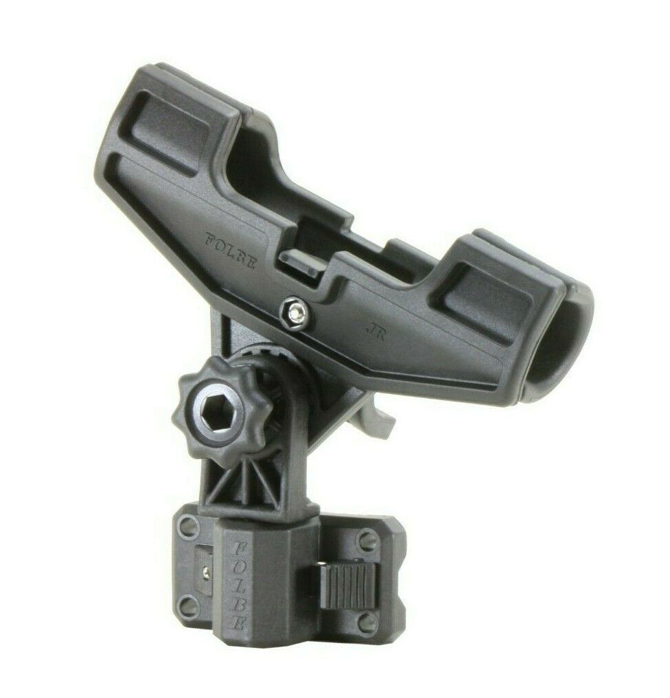 Folbe Fishing Rod Holder w Bulkhead Mount for Gunnel Side Wall Mounting   F077