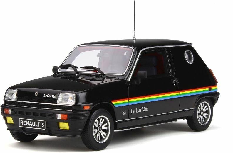 producto de calidad Otto Mobile 555 Renault le Coche Coche Coche Furgoneta Resina Modelo Negro 1980 Ltd Ed 1 18th Escala  punto de venta