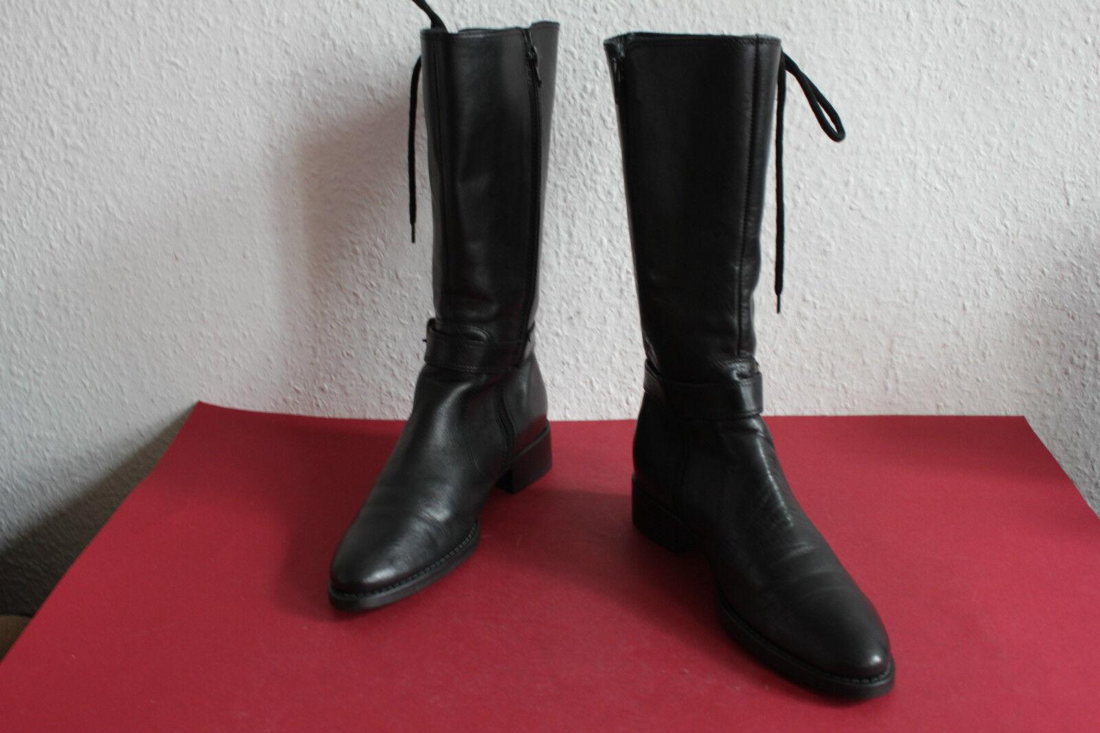 Maripe oder oder oder Marise Stiefel Stiefel made in  Echtleder Schwarz  36 bis 36,5  | Zürich Online Shop  5879fd