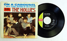 THE HOLLIES 45 On a Carousel / All the World is Love IMPERIAL Pic Slv POP #A717