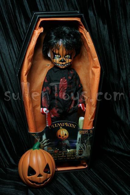 Living Dead Dolls Pumpkin Series 16 Halloween Doll Open Complete LDD sullenToys