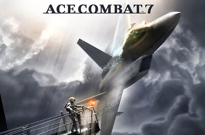 Ace Combat 7 PS4 XBOX ONE PC OTH752 RGC Huge Poster