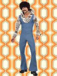 235-groovy-Disco-Dancer-60er-70er-Jahre-Schlaghosenanzug-Herren-Hippie-Kostuem