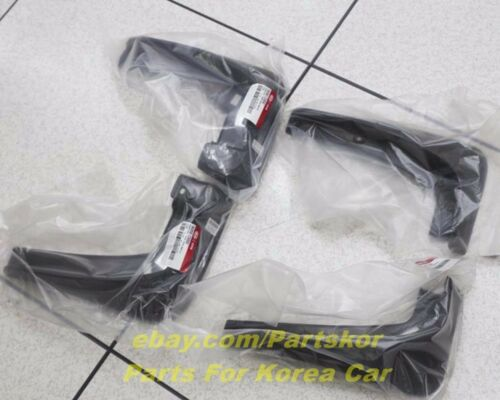 Kia All New Sorento 2015 ~  Mud Guard Mud Flaps Genuine Parts 4Pcs 1Set