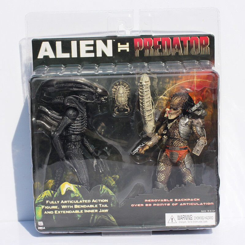 Alien Vs PROTator - Set Alien + PROTator - 2 figures set  Alien Vs PROTator