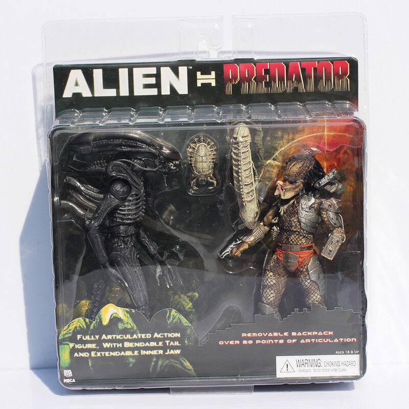 Alien Vs Prossoator - Set Alien + Prossoator - 2 figures set  Alien Vs Prossoator