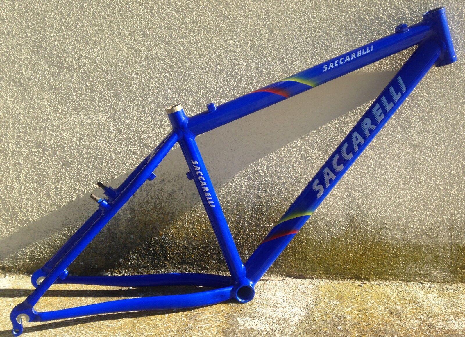 Telaio Bici alluminio Saccarelli Mountain Bike aluminium Frame 26 MTB MiI
