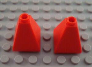 LEGO Lot of 2 Orange 2x2x2 Cone Brick Pieces