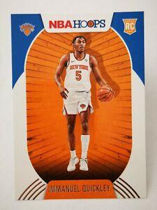 Panini Hoops 2020-21 N22 NBA Rookie RC #249 New York Knicks Immanuel Quickley