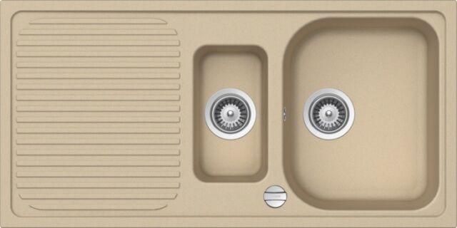 Schock Lithos D100l Large 1 Bowl Croma Granite Kitchen Sink Waste Kit For Sale Online Ebay