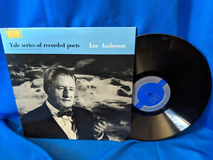 Lee-Anderson-LP-Yale-Series-of-Recorded-Poets-Carillon-YP310-Poetry