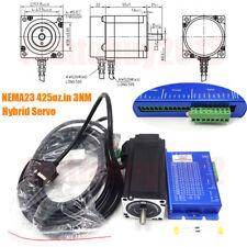 3ph 425ozin Dsp Hybrid Servo Driver 3nm Closed Loop Stepper Motor Nema23 Cable