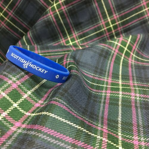 Scottish Hockey Wristband with logo and Scotland text