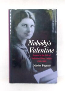 Nobody's Valentine by Marion Poynter exc cond illustrated hardcover dust jacket