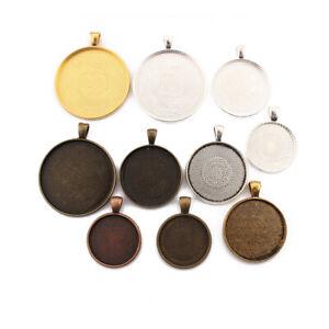 Oval Cabochon Settings Antique Bronze Tibetan 10 x 14mm BULK 4 Packs x 5 Pcs