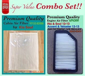 Image Is Loading Combo Set Engine And Cabin Air Filter For