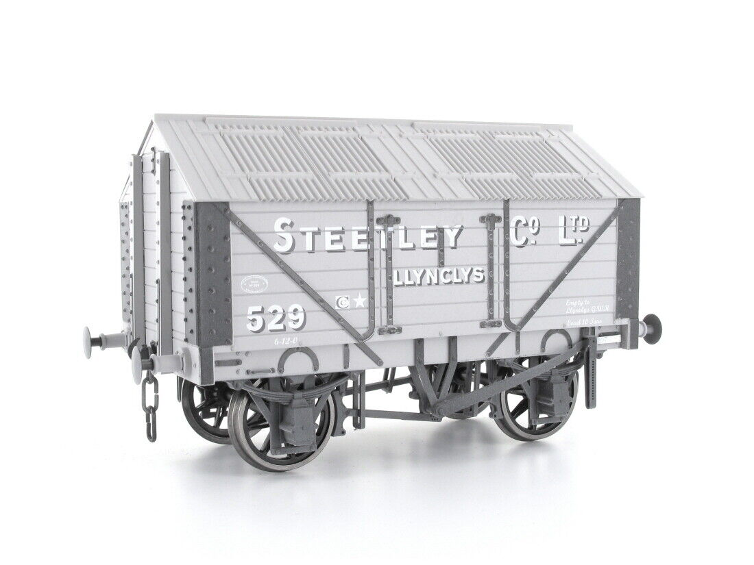 Dapol 7f-017-002w vagones Lime Wagon Steetley nº 529 envejecido 0