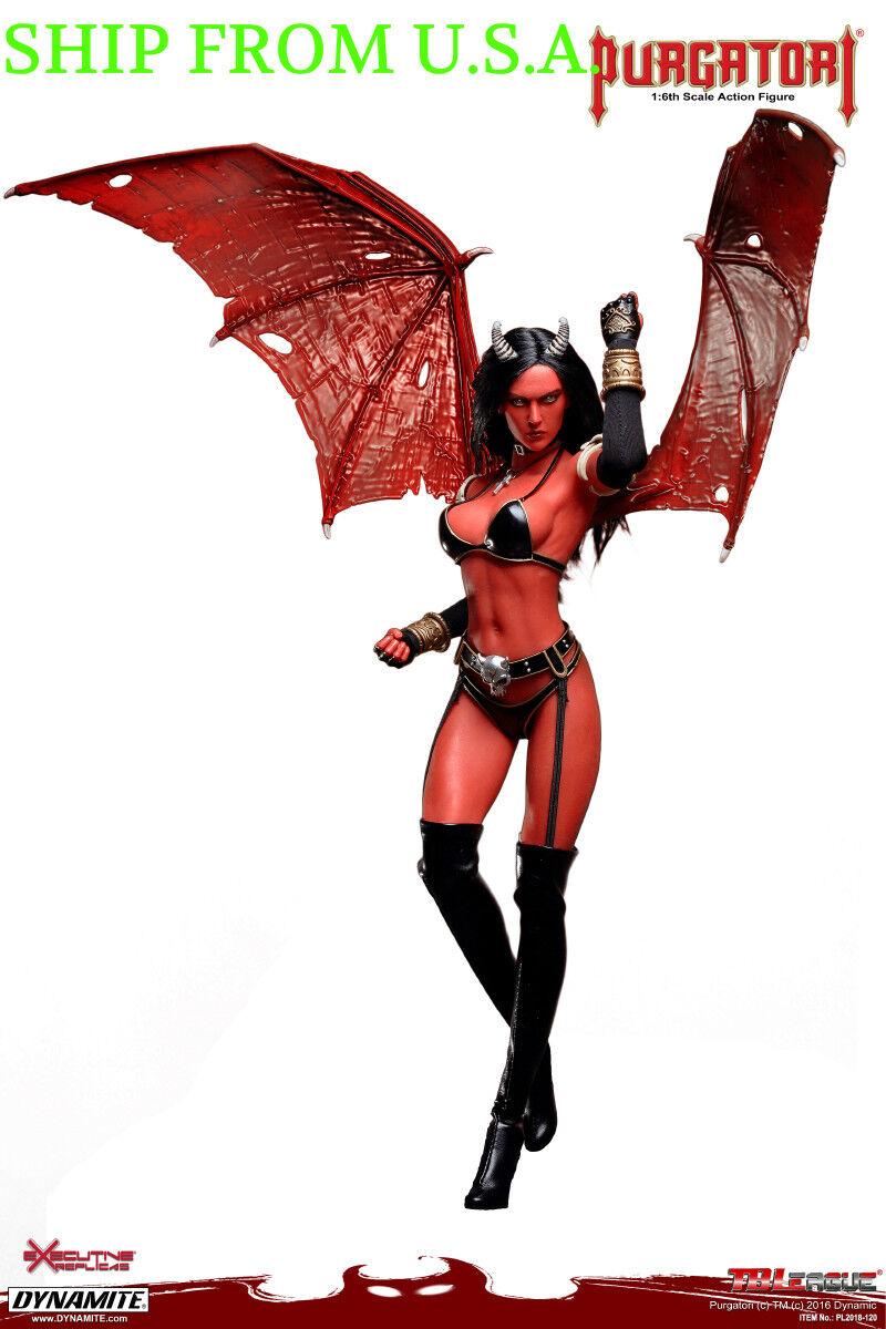 PHICEN 1/6 Purgatori Vampire Female Seamless Figure w/ WINGS Set TBLeague USA