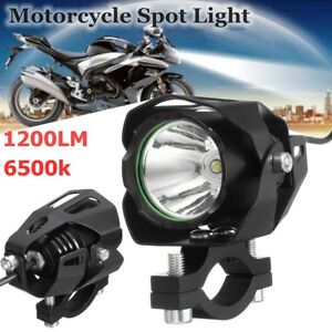 30w-T6-Led-1200lm-Faretti-Supplementari-Faro-Headlight-Fog-Per-Moto-Bike-Cafe