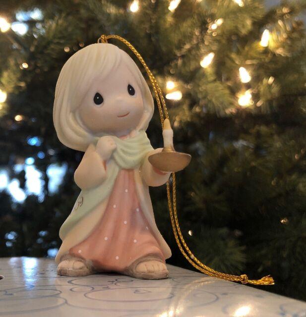 PRECIOUS MOMENTS MAY YOUR FAITH LIGHT THE WAY ORNAMENT