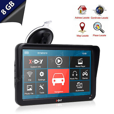 xgody 9 zoll auto gps navigation f r auto lkw pkw navigationsger te 8gb 256mb de ebay. Black Bedroom Furniture Sets. Home Design Ideas