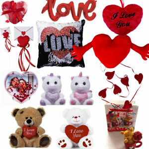 Valentines Day Romantic Gifts Him Her Love Heart Cute Bears