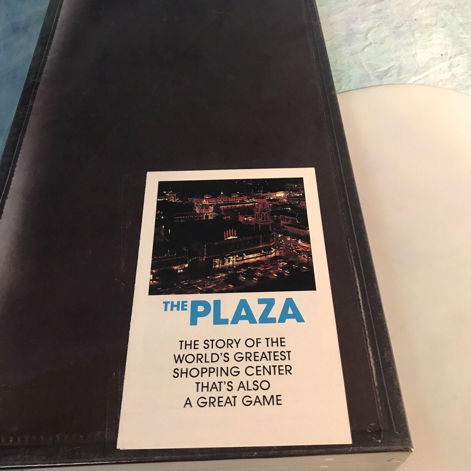 THE PLAZA    Country Club Kansas City MO Shopping Board Game PROTOTYPE 1983 NIB 9dcf46