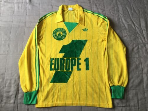 ADIDAS VENTEX production FC Nantes football shirt 80 s BOB MARLEY Made in France afficher le titre d'origine