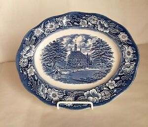 Staffordshire-Liberty-Blue-12-034-Platter