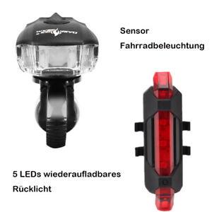 LED Fahrradlampe set Sensor Fahrradbeleuchtung und 5LEDs Fahrrad Rücklicht - Frankfurt, Deutschland - LED Fahrradlampe set Sensor Fahrradbeleuchtung und 5LEDs Fahrrad Rücklicht - Frankfurt, Deutschland