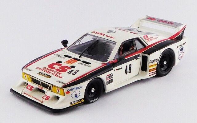 clásico atemporal 1 43 Lancia Beta MC n°48 platastone platastone platastone 1982 1 43 • Best BEST9656    toma