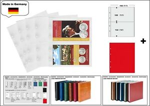 1-look-1-7397-R-Coin-Sheets-Premium-2x-190x122mm-Red-Zwl-for-Coin-Folder